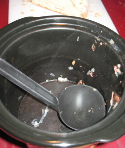 The dish formerly known as Crock Pot Potato Leek Soup