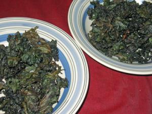 Purple Kale Chips