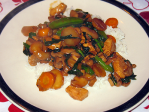 CSA Vegetable Chicken Stir-Fry