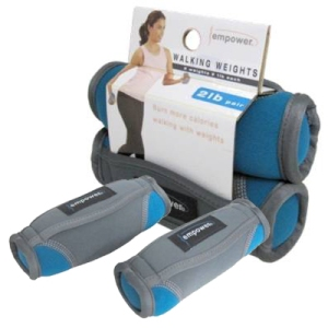 Empower Fitness 2lb Pair Walking Weights