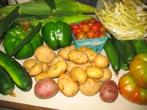 Year 2 Week 6 Veggie Box