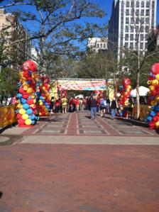2011 Boston Marathon Jimmy Fund Walk Finish Line