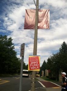 2012 Boston Marathon Jimmy Fund Walk - Boston College