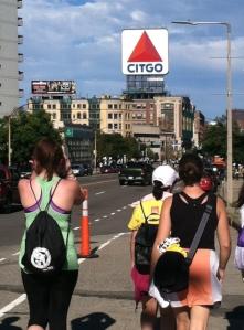 2012 Boston Marathon Jimmy Fund Walk - Kenmore Square