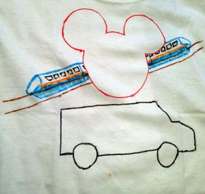 My ds' t-shirt