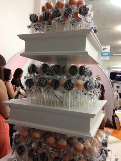 Tire cakepops